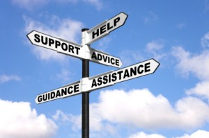 Help and support signpost